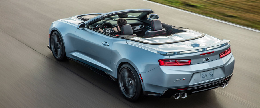 2017 Camaro ZL1 Convertible Rear View