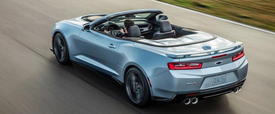 2017 Camaro ZL1 Convertible Rear View