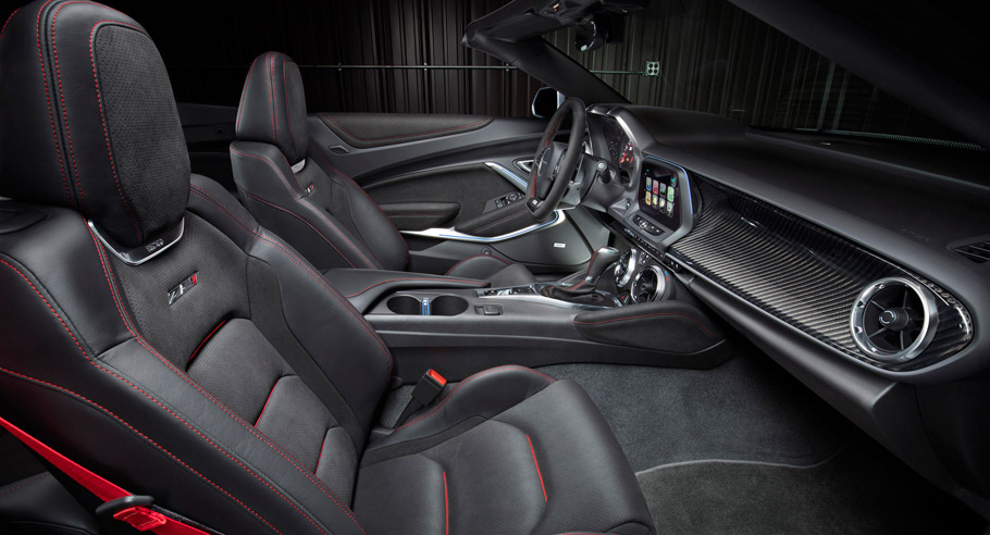 2017 Camaro ZL1 Convertible Interior