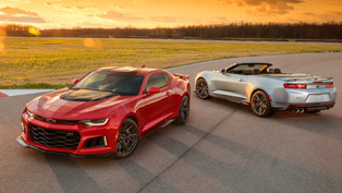 Chevrolet Reveals the Stunning Camaro ZL1 Convertible