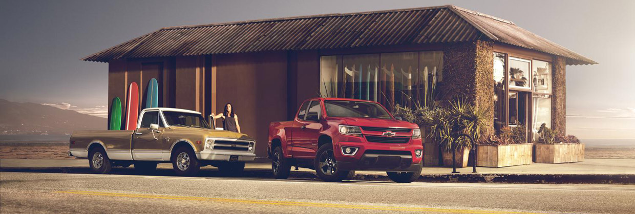 Chevrolet Colorado Shoreline front view