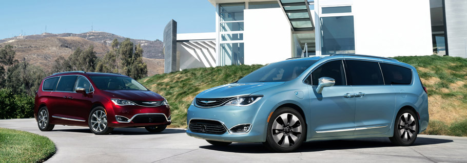 2017 Chrysler Pacifica - Two Models
