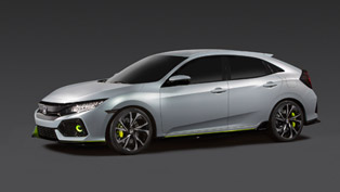 Honda Civic Hatchback Prototype Debuts in New York. To be Driven by a Six-Speed Manual