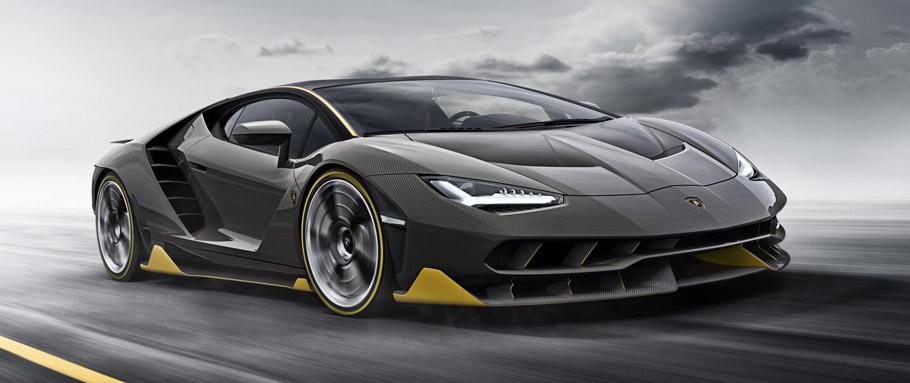 Lamborghini Centenario Front View