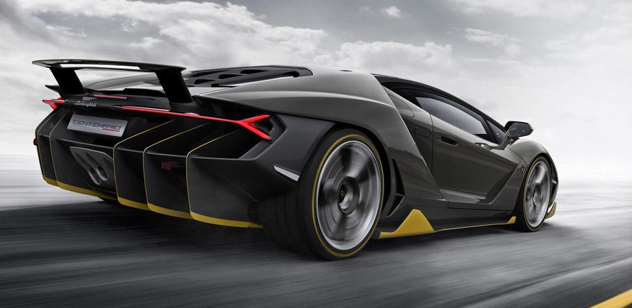 Lamborghini Centenario Rear View
