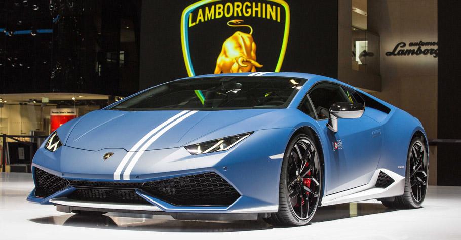 Lamborghini Huracan LP 610-4 Avio Exterior