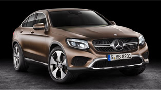 Mercedes-Benz Proudly Showcases the 2017 GLC Coupe at the Shanghai Auto Show