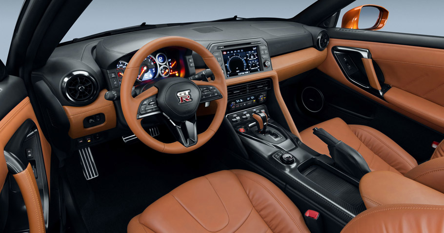 2017 Nissan GT-R Interior View