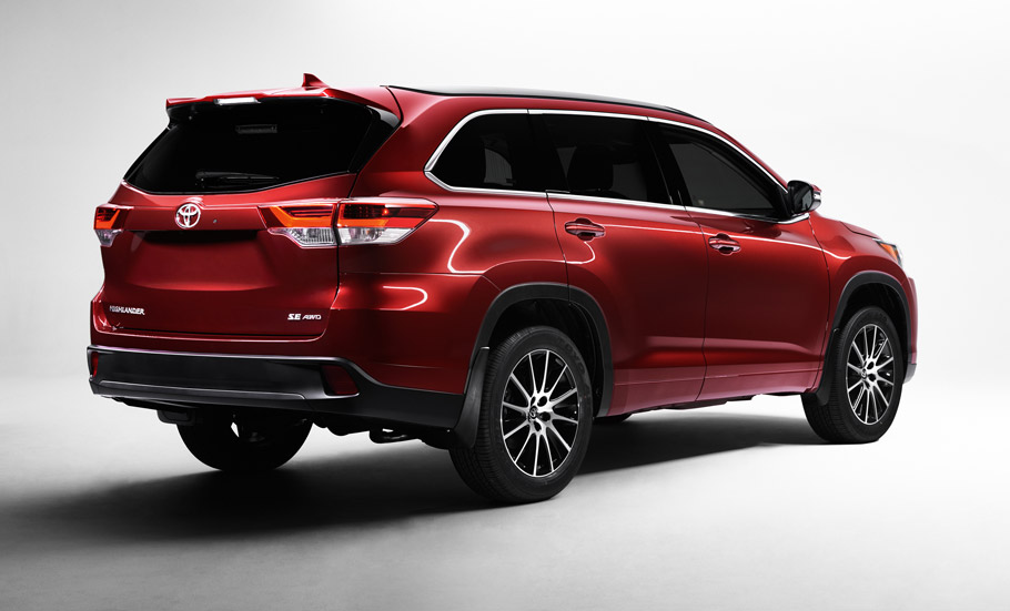 Excellent Toyota Reveals 2017 Highlander SUV