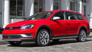 Volkswagen Presents the 2017 Golf Allroad Machine