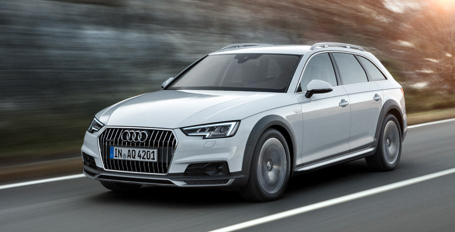 Audi A4 allroad quattro front view