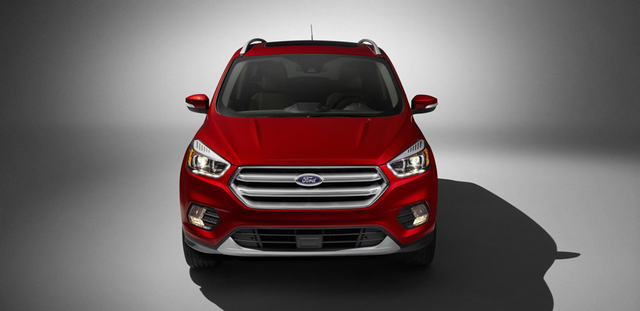 Ford Escape Titanium Front View