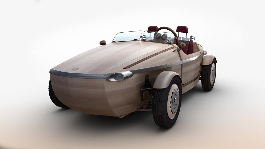 Toyota Setsuna Concept Car front View
