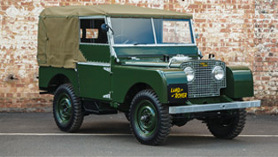 land rover classic revives 1948 veterans