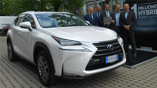 millions have bought lexus hybrid car. or at least one million