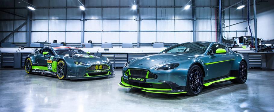 Aston Martin Vantage GT8 front view
