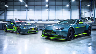 racing is in aston martin's blood. the proof: the newest vantage gt8! [w/video]