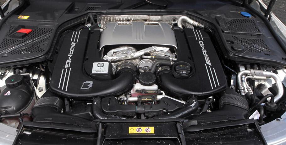 B&B Mercedes-AMG C63 Engine