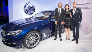 BMW Team Celebrates The Launch of Individual 7 Series With a Special Event