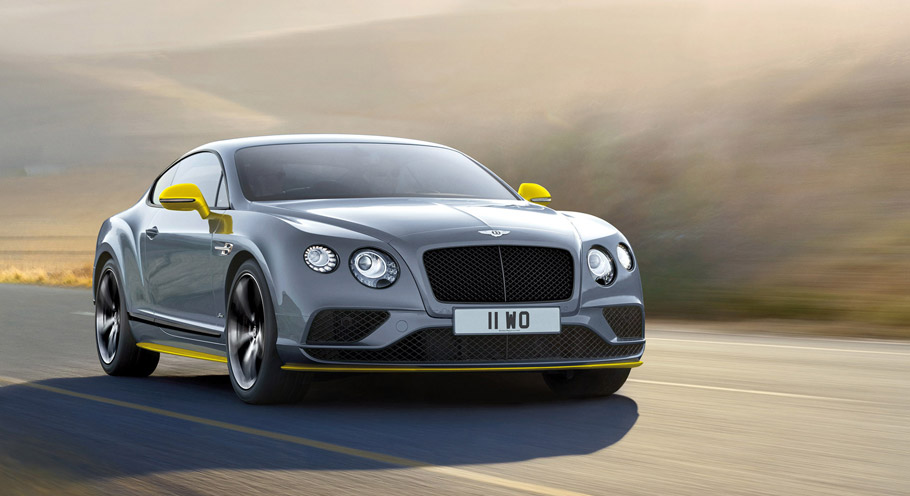 Bentley Continental GT Speed Black Edition Front View