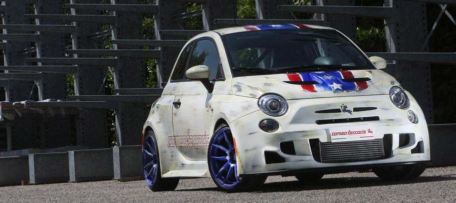 Bilstein Fiat 500 Cinquone USA Front View