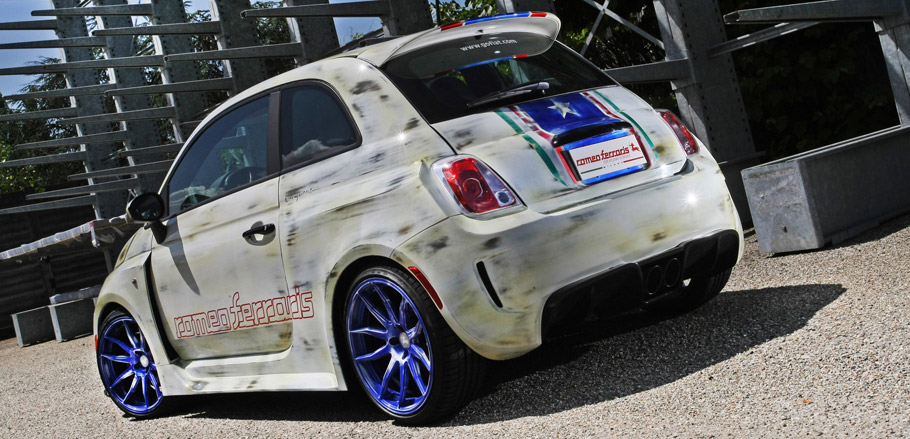Bilstein Fiat 500 Cinquone USA rear View