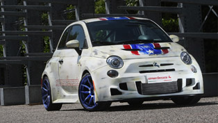 Bilstein Builds Captain America's Car Based on Fiat 500 Cinquone