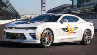 2017 camaro 50th anniversary will be the pace car at the indianapolis 500!