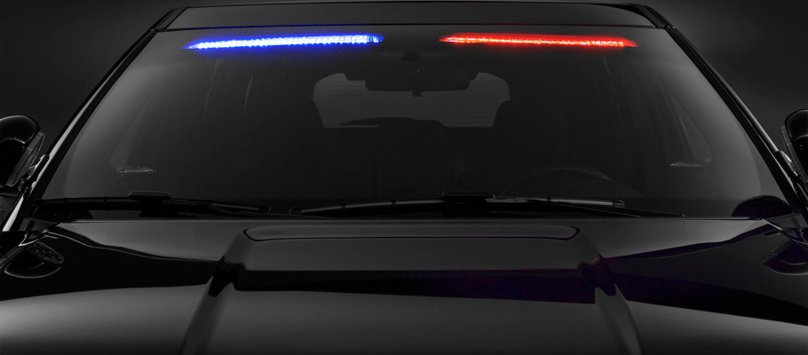 2016 Ford Police Interceptor Utility Vehicle interior visor light