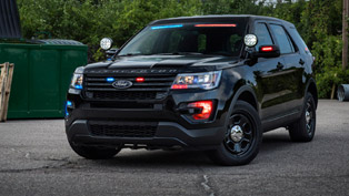 Ford Offers Stealthier Appearance for the Police Interceptor Utility Vehicles