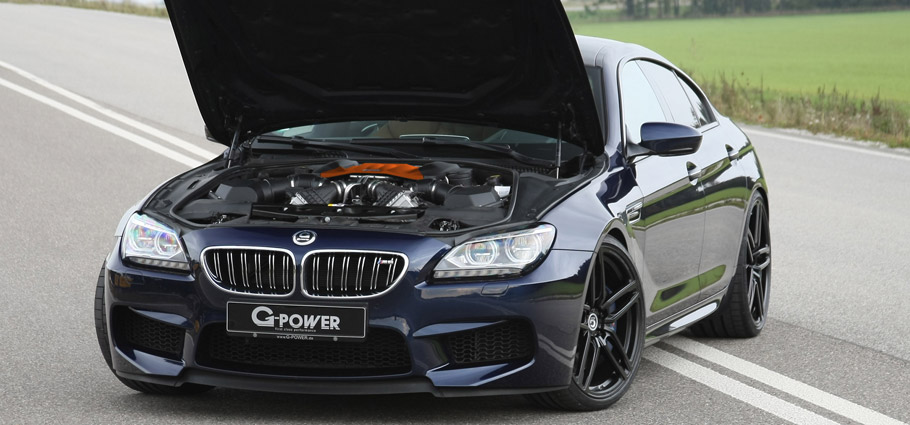 G-Power BMW M6 F06 Bonnet Open