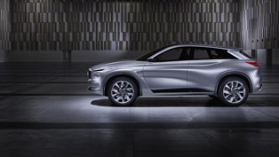 infiniti showcases the bold and beautiful qx sport inspiration concept
