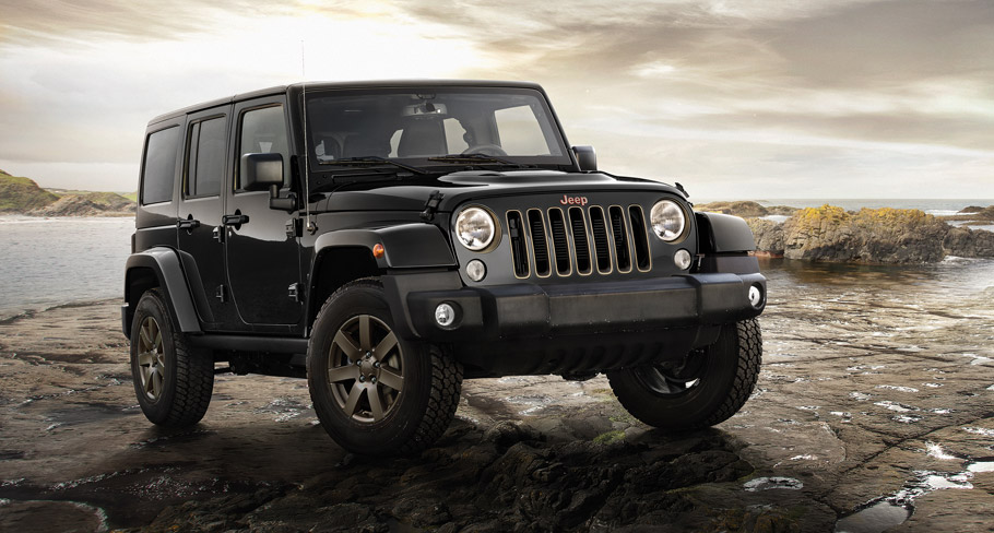 2016 Jeep 75th Anniversary Models