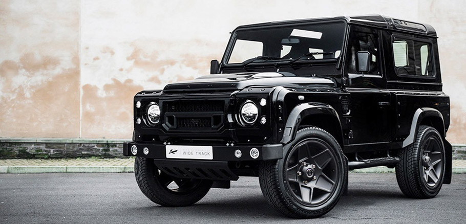 Kahn Land Rover Defender XS 90 The End Edition Front View