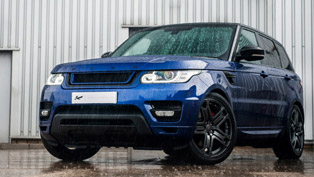 dynamic colors of kahn edition range rover sport is the best suv you'll see today