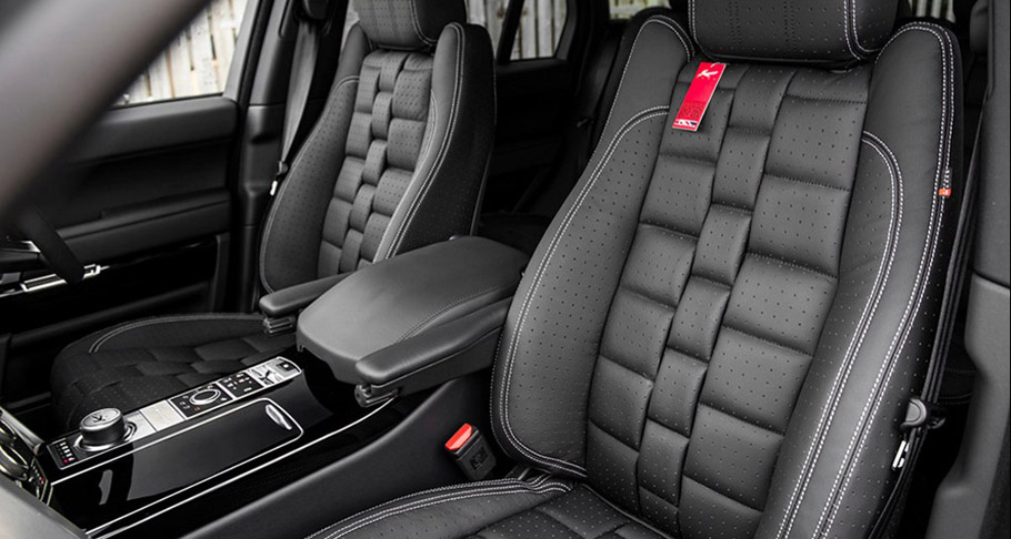 Kahn Range Rover Vogue RS Edition interior