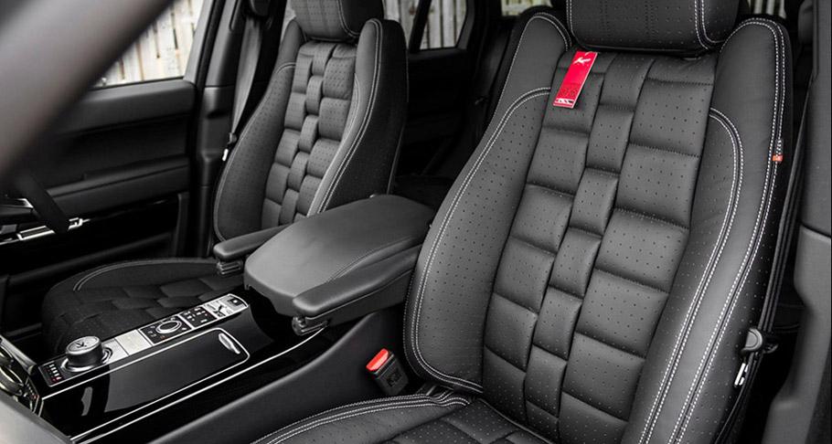 Kahn Range Rover Vogue RS Edition interior