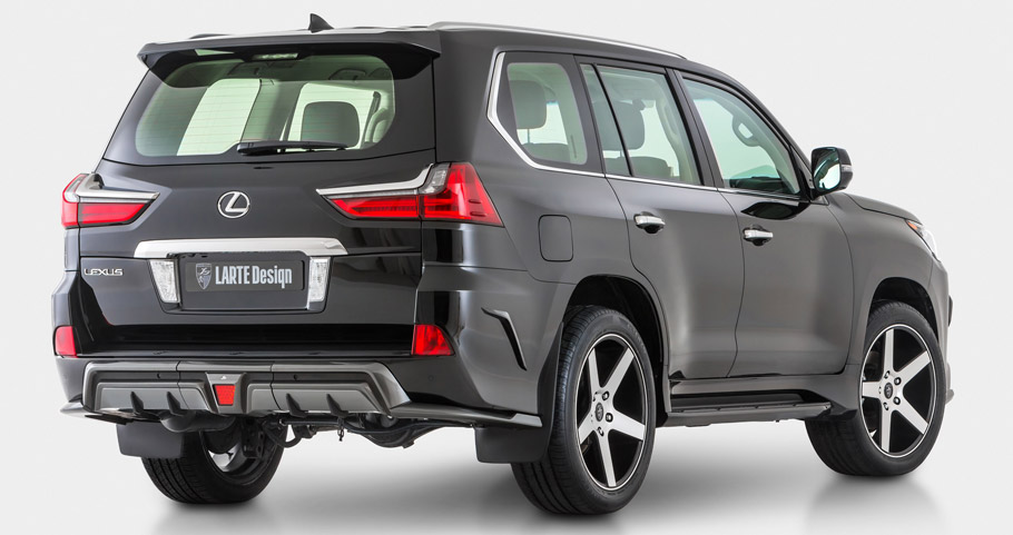 Larte Design Lexus LX 570 Rear View