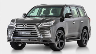 Larte Design Finally Reveals the Secret Tuning Project Based on Lexus LX 570