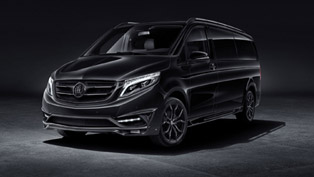 Larte Design redefines luxurious experience with special VIP Black Crystal V-Class