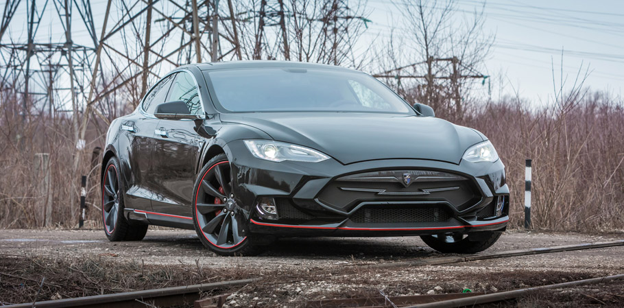 Larte Design Tesla Model S Elizabeta Front View