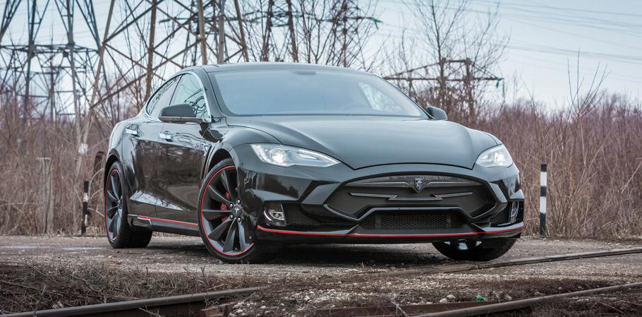 Larte Design Tesla Model S Elizabeta Front View