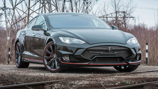 Tesla Model S Elizabeta is the Next Great Thing in LARTE Design's Garage