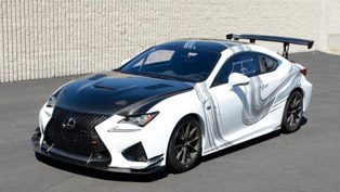 Lexus RC F GT Concept Will Be Proudly Demonstrated at Long Beach For a Rather Special Event