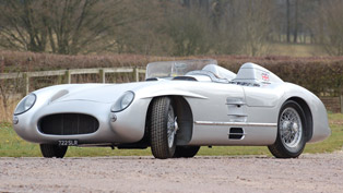 A Perfect and Dramatic Recreation of the 300 SLR Seeks Its New Owner