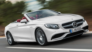 Mercedes Team Releases Details for the 2017 S-Class Cabrio!
