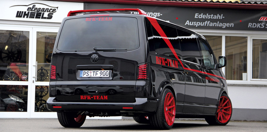 RFK Tuning Volkswagen T5 Bus Rear view
