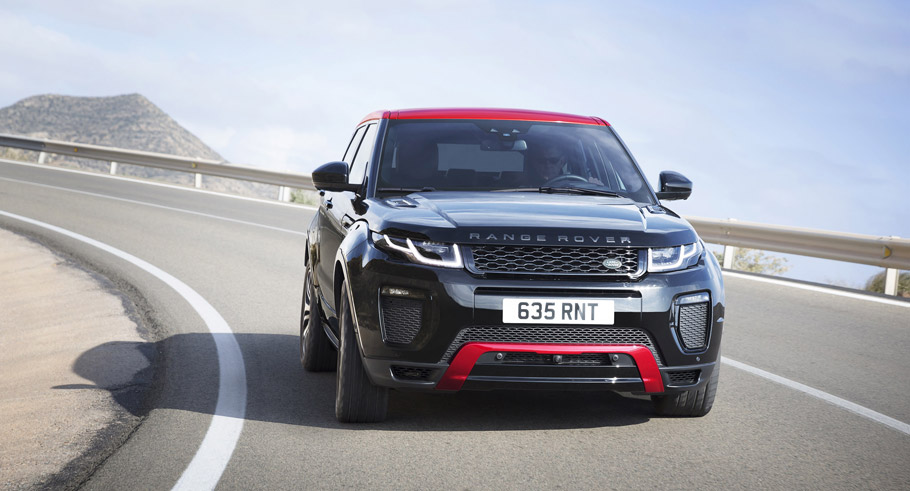 Range Rover Evoque Ember Special Edition front view