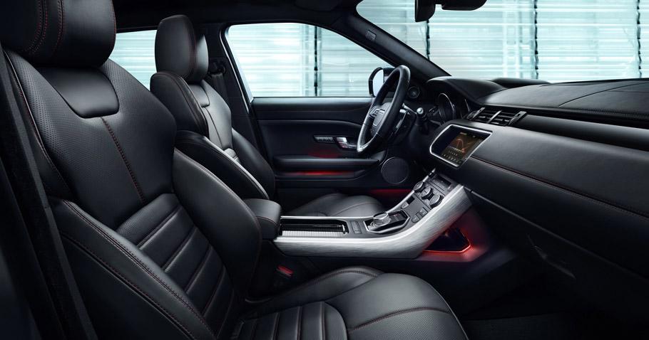 Range Rover Evoque Ember Special Edition Interior