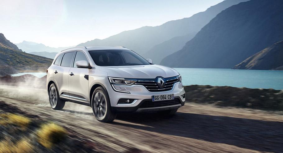 Renault KOLEOS front view